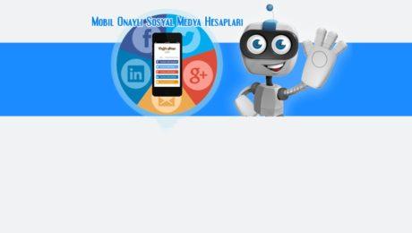 mobil onaylı hesap