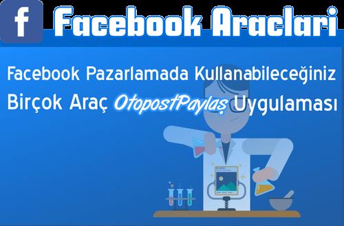 facebook araçları